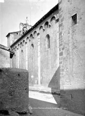 Ancienne cathédrale, actuellement Eglise Notre-Dame - Façade sud, vue en perspective