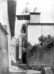Ancienne cathédrale, actuellement Eglise Notre-Dame - Clocher, côté sud