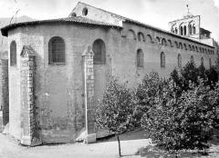Ancienne cathédrale, actuellement Eglise Notre-Dame - Façade nord et abside