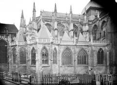 Eglise Saint-Jacques - Chevet, côté nord