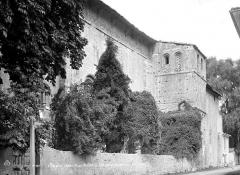 Cathédrale  dite église Notre-Dame-du-Bourg - Façade sud, vue en perspective