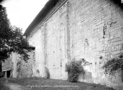 Cathédrale  dite église Notre-Dame-du-Bourg - Façade nord, vue en perspective