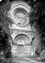 Cathédrale  dite église Notre-Dame-du-Bourg - Façade ouest