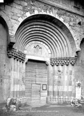Cathédrale  dite église Notre-Dame-du-Bourg - Portail de la façade ouest