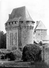 Château de Pocé - Châtelet, côté sud