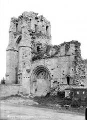 Eglise Notre-Dame du Pré (ruines) - Ensemble ouest