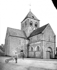 Eglise Notre-Dame-sur-l'Eau ou Notre-Dame-sous-l'Eau - Ensemble nord-ouest