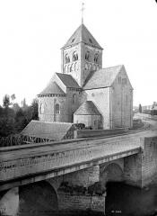 Eglise Notre-Dame-sur-l'Eau ou Notre-Dame-sous-l'Eau - Ensemble nord-est