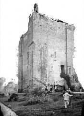 Château - Donjon : Vue extérieure
