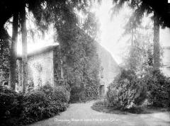 Maison de Jeanne d'Arc - Vue d'ensemble prise du jardin