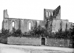 Eglise Saint-Denis (ruines) - Ensemble sud