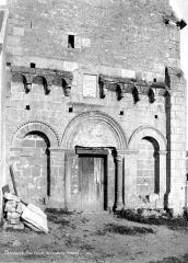 Ancienne chapelle - Façade ouest