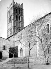 Eglise Sainte-Eulalie (ancienne cathédrale) - Façade sud et clocher