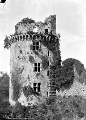Ancienne forteresse ou ancien château de Largouët - Tour d'angle