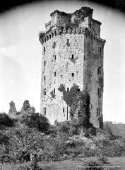 Ancienne forteresse ou ancien château de Largouët - Donjon, côté sud-est