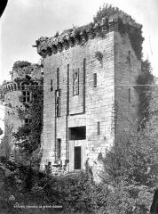 Ancienne forteresse ou ancien château de Largouët - Grand châtelet