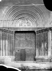 Eglise Notre-Dame (ancienne cathédrale) - Portail de la façade nord