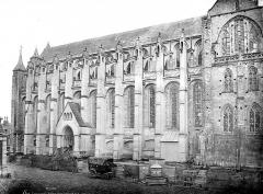 Collégiale Notre-Dame et Saint-Laurent - Façade sud