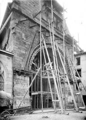 Eglise Saint-Maurice - Portail de la façade nord