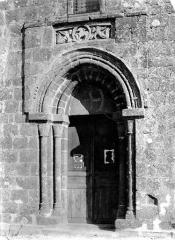 Eglise Saint-Etienne - Portail de la façade ouest
