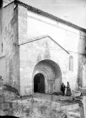 Eglise Notre-Dame-des-Pins - Façade sud : Portail