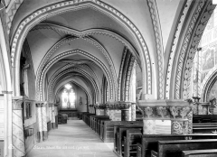 Eglise Saint-Martin - Vue intérieure du bas-côté nord, vers l'est