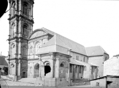 Abbaye - Eglise : Ensemble sud-ouest