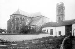 Abbaye - Eglise : Ensemble nord-est