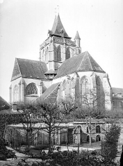 Ancienne abbaye Saint-Taurin - Ensemble sud-est
