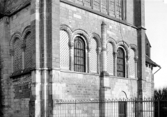 Ancienne abbaye Saint-Taurin - Transept sud : Partie médiane