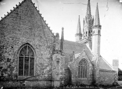 Chapelle Saint-Fiacre - Façade nord