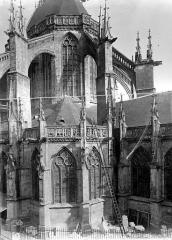 Eglise Notre-Dame-des-Marais - Abside, côté sud
