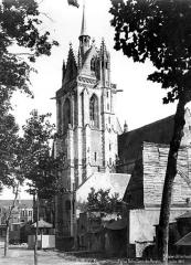 Eglise Notre-Dame-des-Marais - Clocher, côté nord-ouest