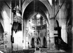 Eglise Notre-Dame-des-Marais - Vue intérieure de la nef vers le choeur