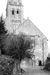 Eglise Saint-Mandé-Saint-Jean - Façade ouest