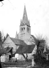 Eglise Saint-Mandé-Saint-Jean - Ensemble sud-ouest