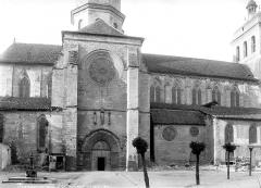 Eglise Saint-Sauveur - Façade nord : Transept