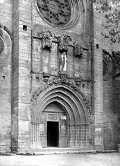 Eglise Notre-Dame-du-Puy - Portail de la façade ouest