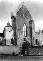 Abbaye Notre-Dame - Eglise : Façade ouest
