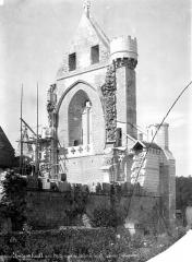 Abbaye Notre-Dame - Eglise : Revers de la façade ouest