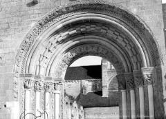 Abbaye Notre-Dame - Eglise : Portail de la façade ouest