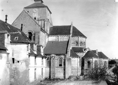 Abbaye Notre-Dame - Eglise : Abside, côté sud