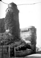 Château - Côté ouest : Tour des Gobelins, tour de Surienne