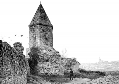 Remparts (restes) - Fortifications romaines