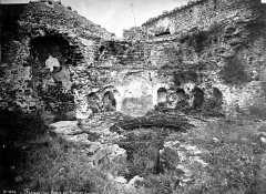 Thermes antiques (restes) - Vue intérieure d'une salle