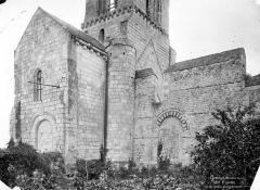 Eglise Saint-Eusèbe - Façade nord