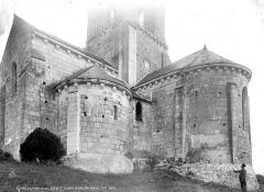 Eglise Saint-Eusèbe - Abside et transept, côté sud