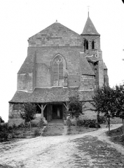 Eglise Saint-Vétérin - Façade ouest