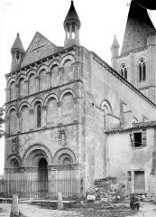 Eglise Saint-Martin - Façade ouest
