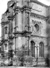 Eglise Saint-Gervais-Saint-Protais - Façade ouest vue en perspective